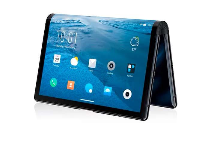 Royole Flexpai - первый смартфон с гибким экраном на рынке