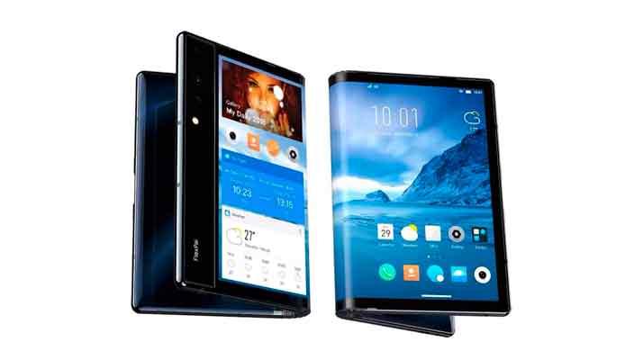 Royole Flexpai - первый на рынке смартфон с гибким экраном