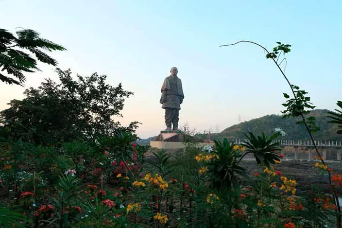 СтатуяВаллабхаи Пателя - самый высокий монумент мира