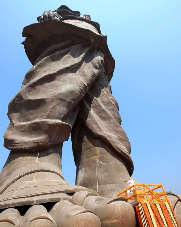Самая высокая статуя в Индии - «Статуя Единства»