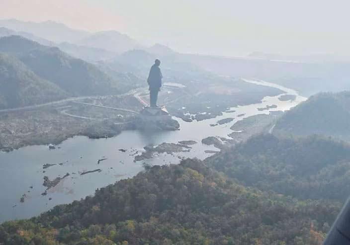 Самая высокая статуя в мире. Памятник Валлабхаи Пателя