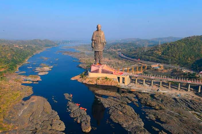 «Статуя Единства» - самая высокая статуя в мире