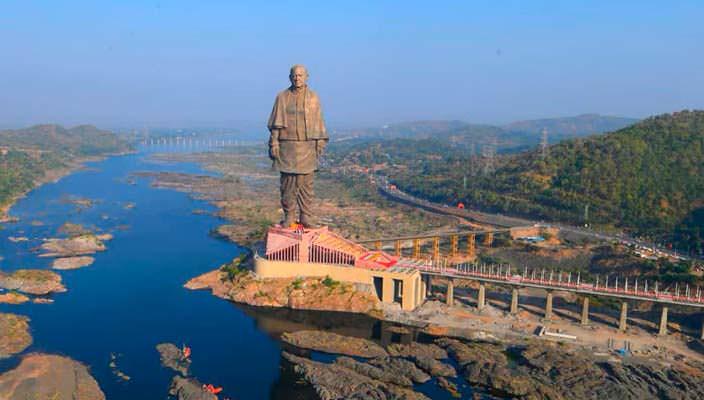 Самая высокая статуя в мире открылась в Индии | фото, видео