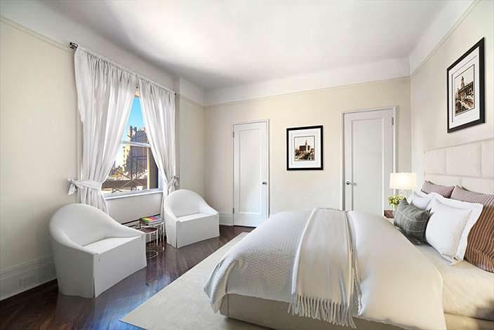 Дизайн спальни в квартире актера Сэмюэля Л. Джексона