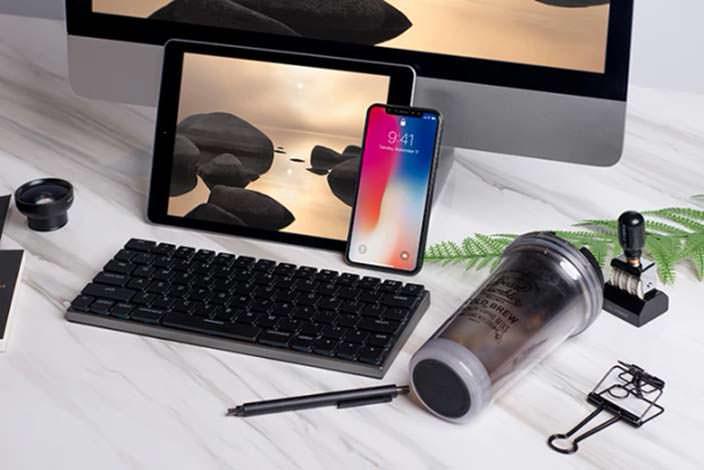 Taptek - механическая Bluetooth-клавиатура с подсветкой кнопок