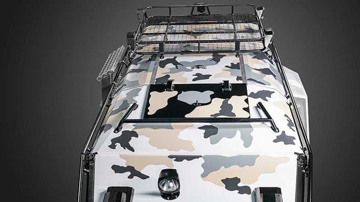Экспедиционный багажник на крыше вездехода КРЕЧЕТ Z 210-91