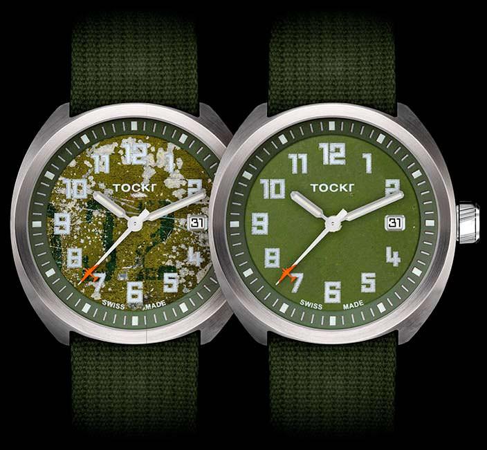 Авиационные часы Tockr D-Day C-47