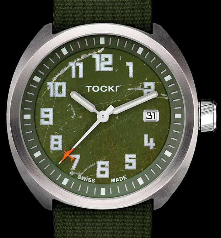 Лимитированные авиационные часы Tockr D-Day C-47