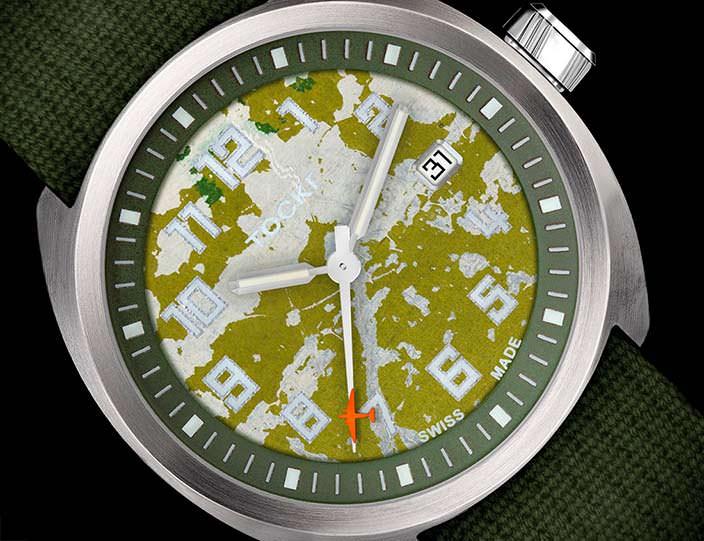 Часы Tockr D-Day C-47 на механизме ETA 2824-A6