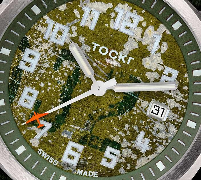 Американские авиационные часы Tockr D-Day C-47