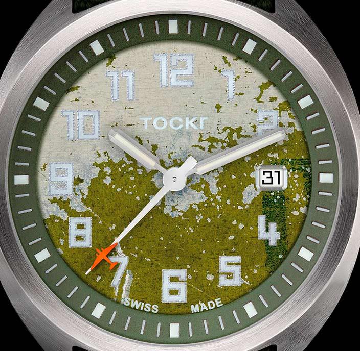 Авиационные часы Tockr D-Day C-47 на швейцарской механике
