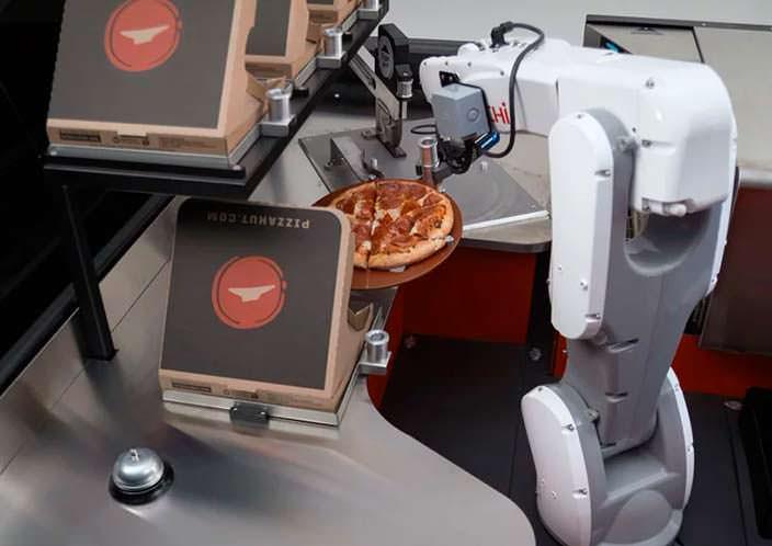 Фабрика по готовке пиццы в борту Toyota Tundra PIE Pro