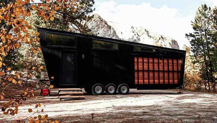 Draper RV - трехосный дом на колесах для полной жизни | фото