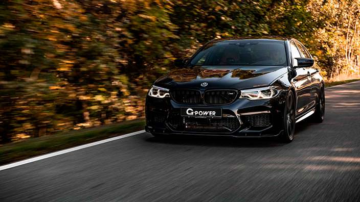 Мощный тюнинг BMW M5 от G-Power