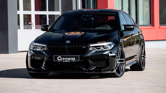 Супер-тюнинг BMW M5 F90 от G-Power