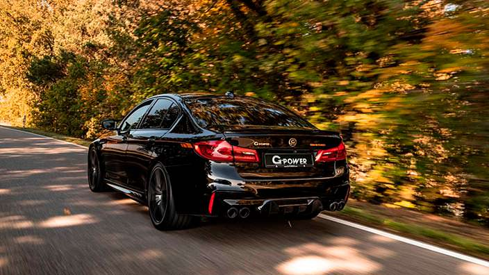 Тюнинг BMW M5 F90 от G-Power