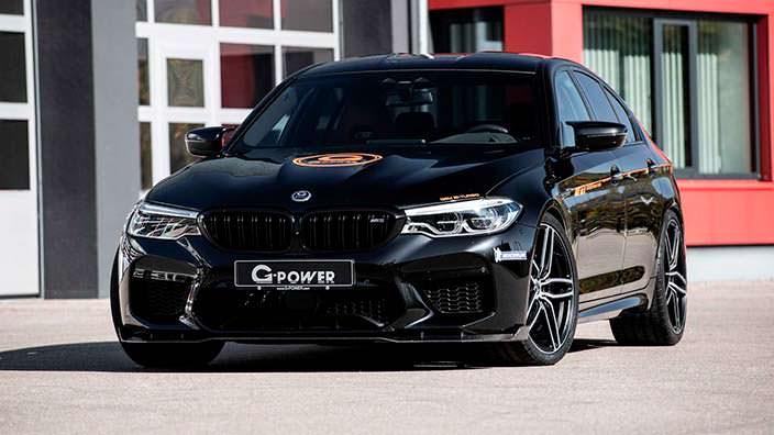 Супер-седан BMW M5. Тюнинг от G-Power