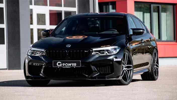 Мощный тюнинг BMW M5 в кузове F90 от G-Power | фото