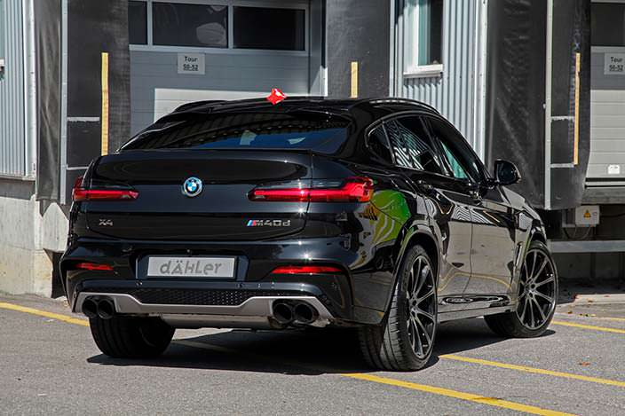 BMW X4 G02. Тюнинг Dahler Competition