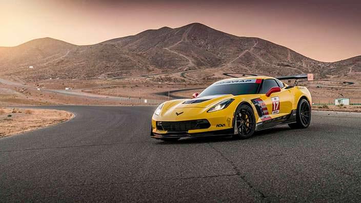 Гоночный Chevrolet Corvette Z06 от Speed Society