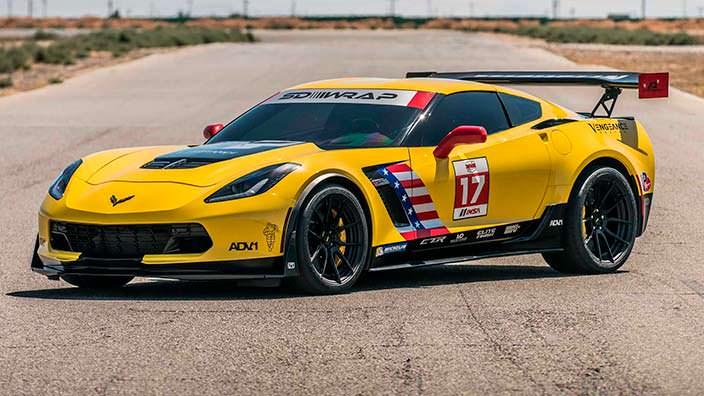 Гоночный Chevrolet Corvette Z06. Тюнинг от Speed Society