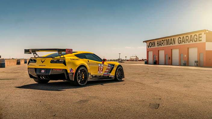 Chevrolet Corvette Z06. Тюнинг от Speed Society