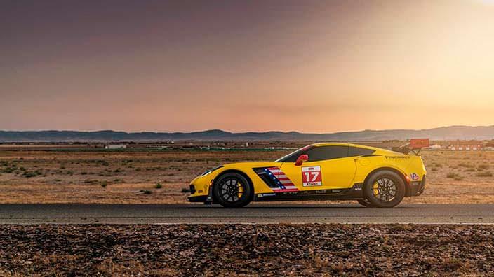 Суперкар Chevrolet Corvette Z06. Тюнинг от Speed Society
