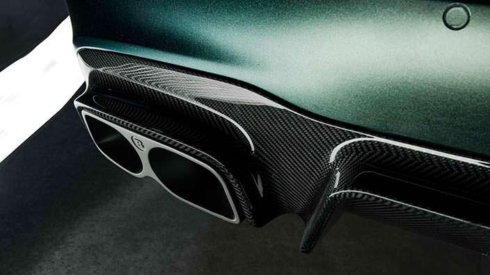 Выхлопные трубы с керамическим напылением Mercedes-AMG E63 S