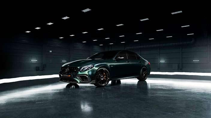 Mercedes-AMG E63 S. Новый тюнинг от Brabus