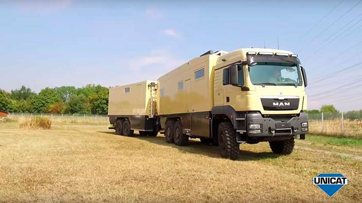 Экспедиционный грузовик MAN TGS 26.540 6x6 от Unicat