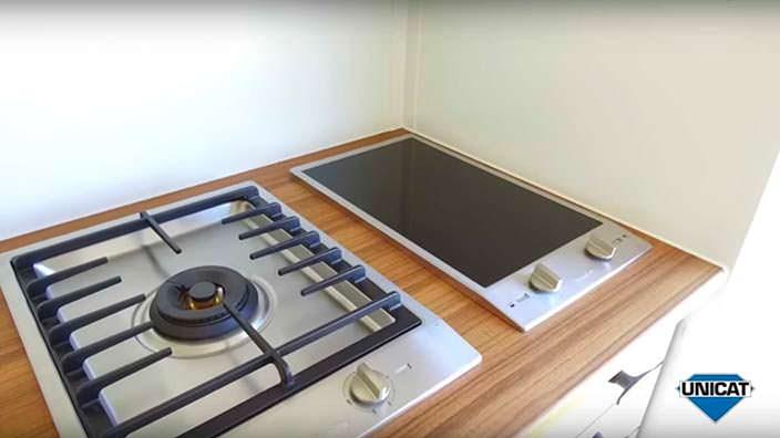 Варочные поверхности на кухне MAN TGS 26.540 6x6 от Unicat