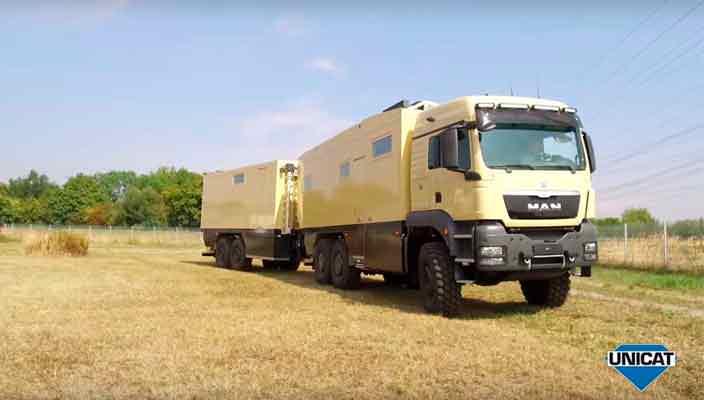 Unicat сделал экспедиционный грузовик из MAN TGS | фото