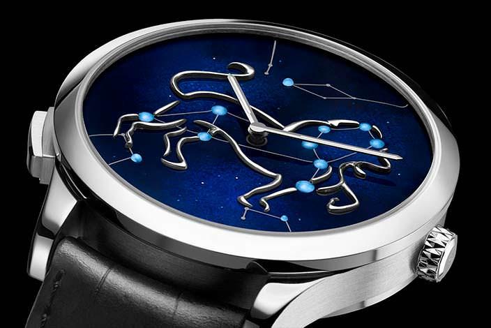 Мужские золотые часы Van Cleef & Arpels Zodiac Lumineux