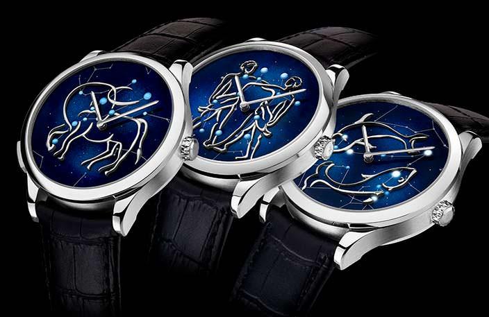 Мужские зодиакальные часы Van Cleef & Arpels Zodiac Lumineux