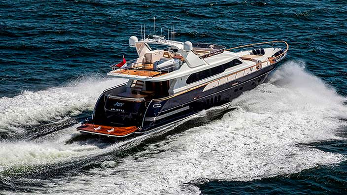 Joy - новая яхта длиной 24 метра от Van der Valk