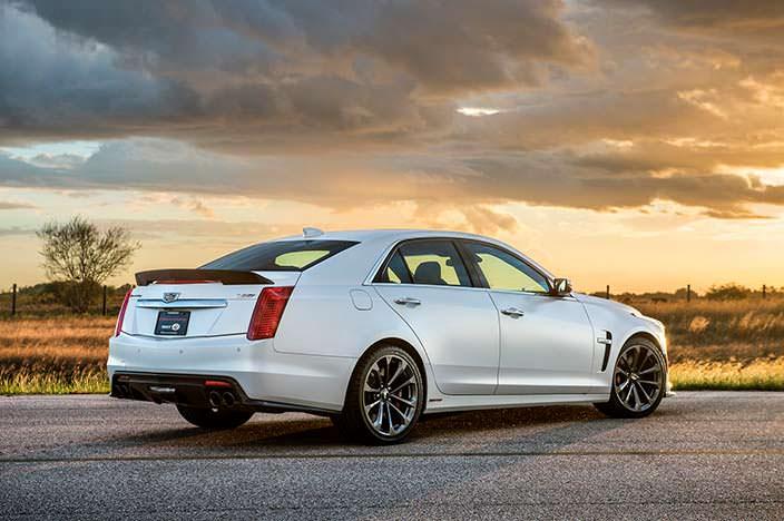 Cadillac CTS-V от Hennessey: седан-гиперкар на 1 000-сил