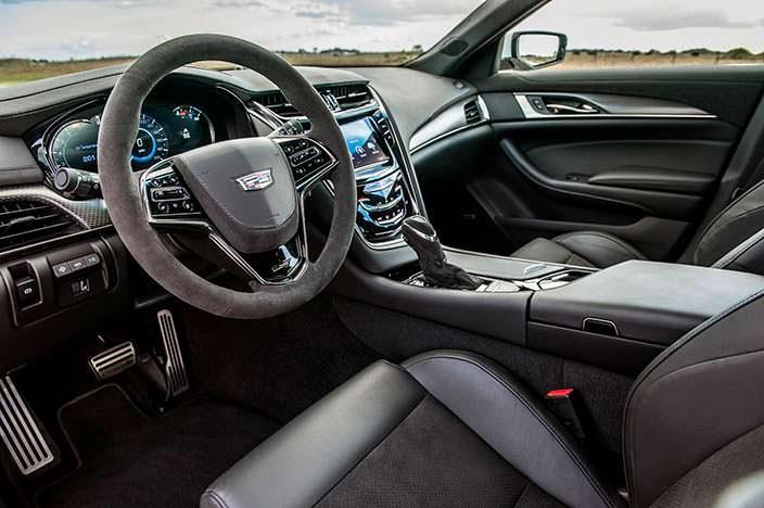 Фото салона Cadillac CTS-V. Тюнинг от Hennessey