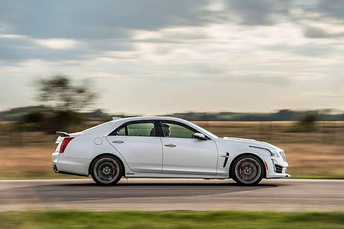 Тюнинг Cadillac CTS-V от Hennessey