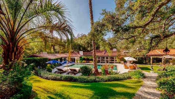 Дом Дрю Бэрримор и Тома Грина в Голливуде продают | фото, цена
