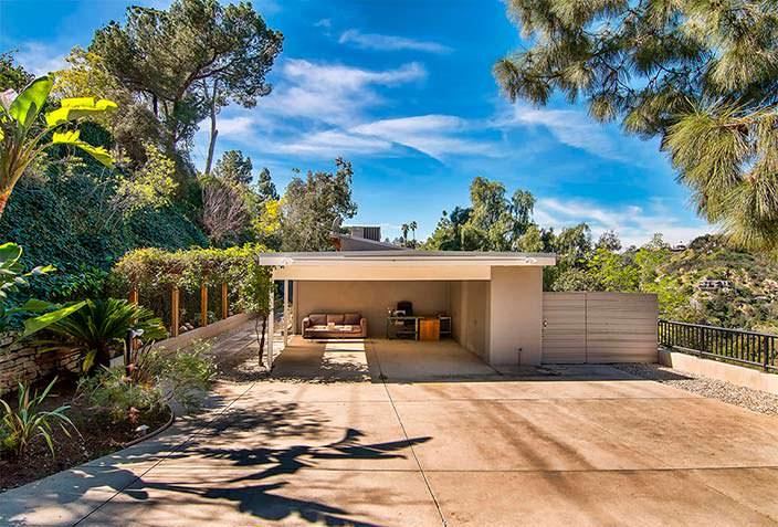 Дом Эллен Пейдж в Лос-Анджелесе