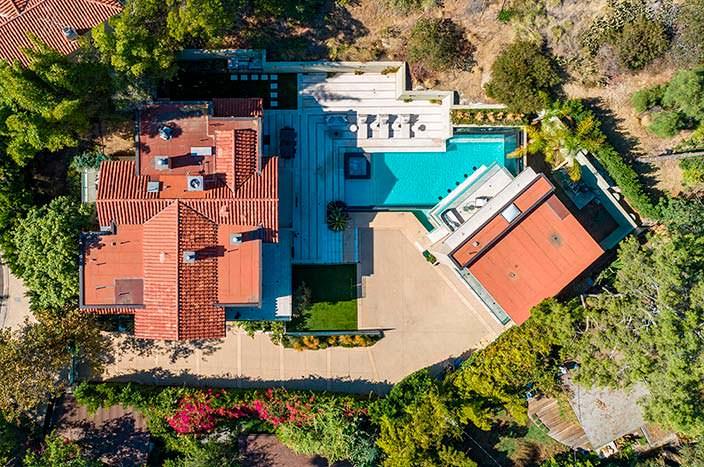 Недвижимость Рианны в Голливуде