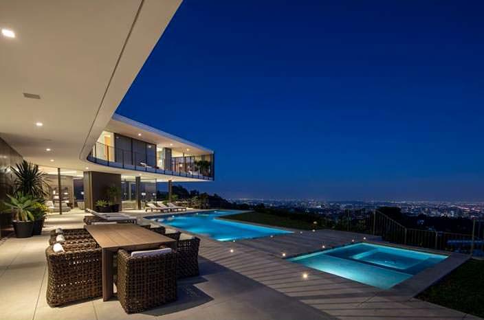 Дом с видом на Лос-Анджелес