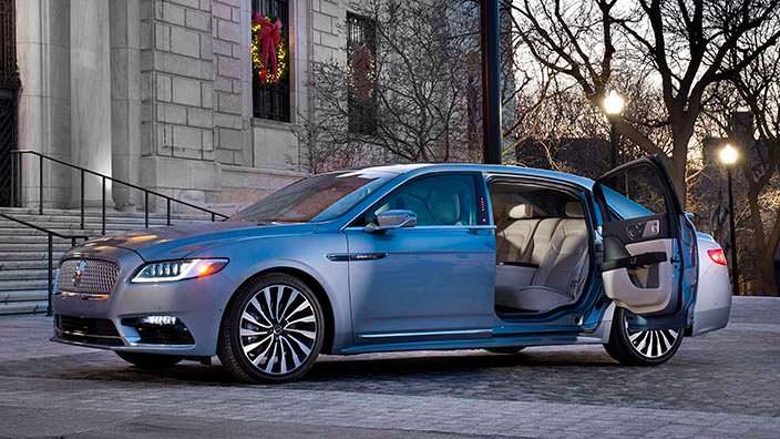 Lincoln Continental Coach Door - суицидальные двери