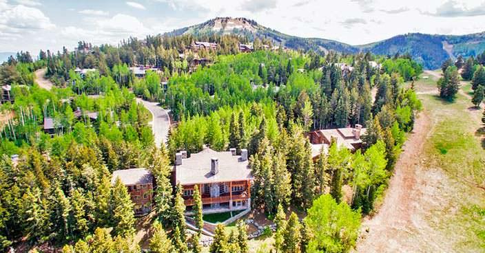 Дом в горах Юты сооснователя DreamWorks