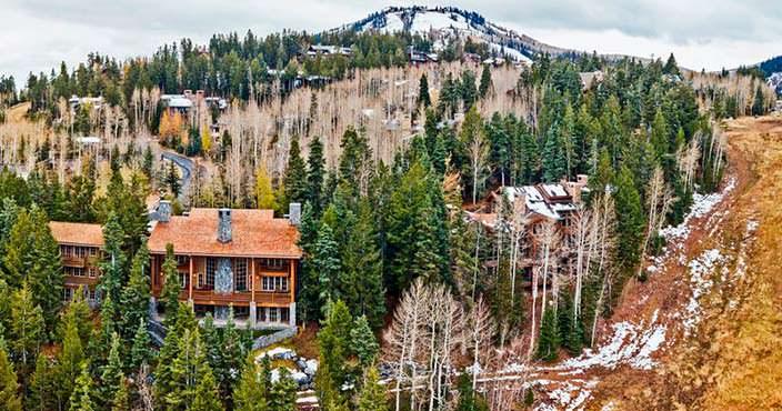 Дом в горах Юты