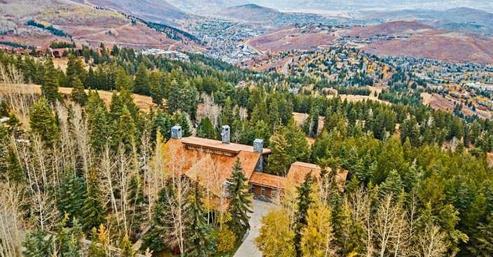 Дом с панорамным видом на горнолыжный курорт