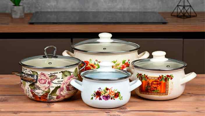 Эмалированная посуда - оптимальный выбор для современной кухни