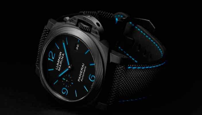 Panerai показала часы Luminor Marina Carbotech™ PAM01661
