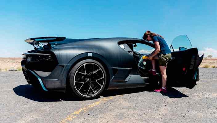 Мощности кондиционера Bugatti Chiron достаточно для охлаждения целой квартиры