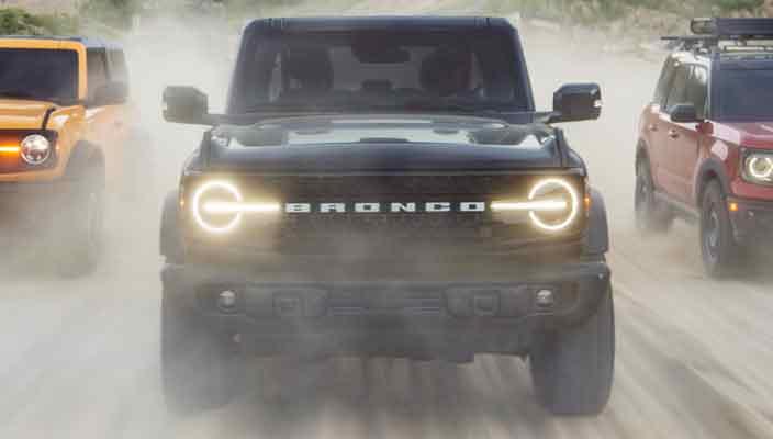 Культовый внедорожник Ford Bronco вернулся | фото и видео